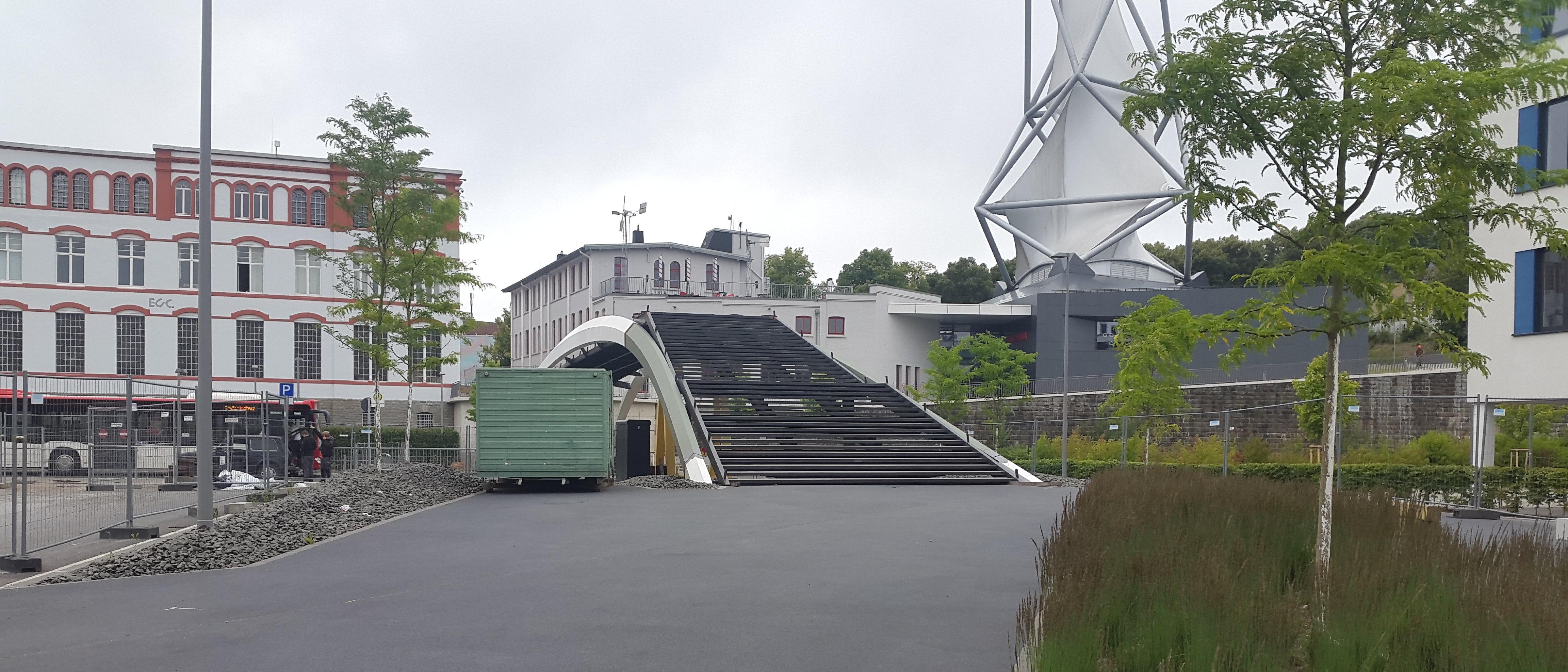 Brücke zur Phänomenta Lüdenscheid